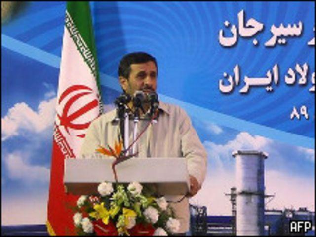 احمدي نجاد جدد رأيه القائل بان الولايات المتحدة لم تغير من سياساتها