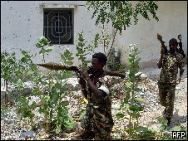 قوات حكومية صومالية