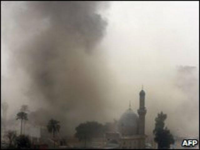 انفجار سابق في العراق