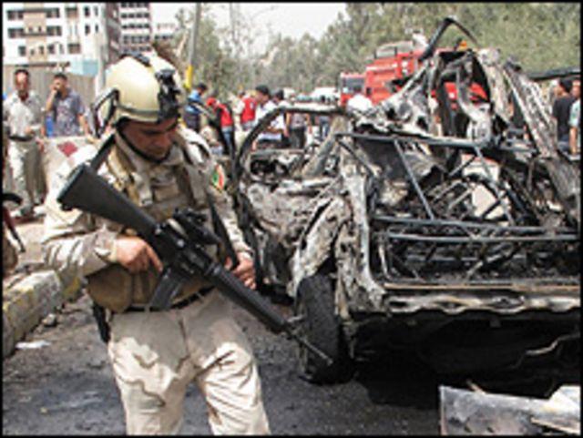 تفجيرات بغداد في 4 ابريل/نيسان 2010