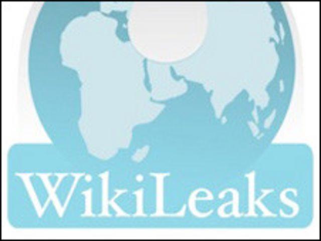 Logotipo del sitio web Wiki Leaks
