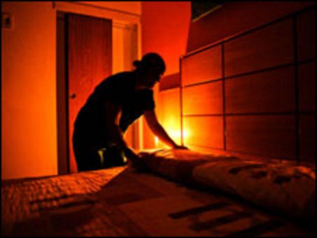 انقطاع الكهرباء في كاراكاس