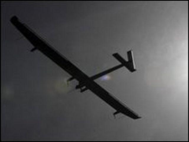 طائرة شمسية
