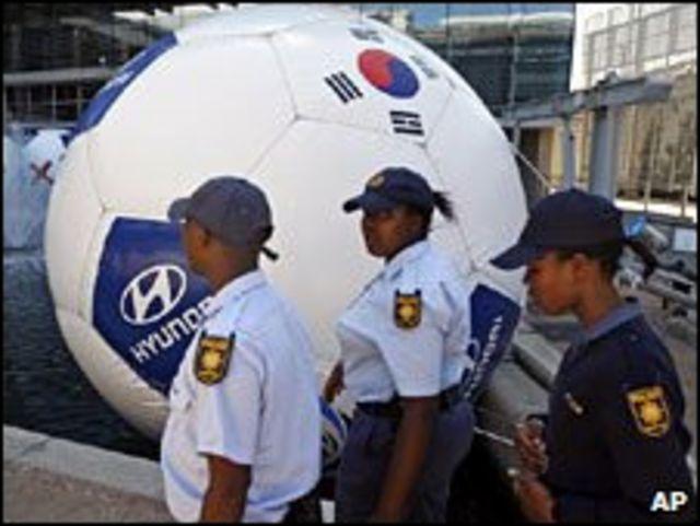 رجال أمن جنوب افريقيون