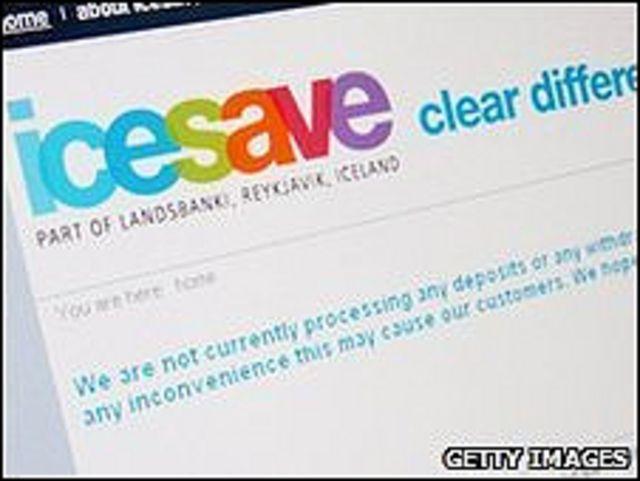 Logo de Icesave