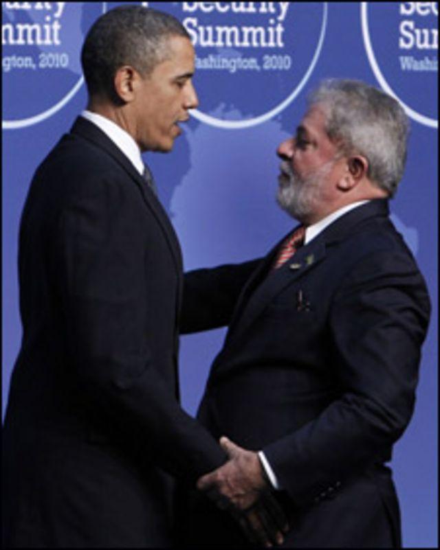 اوباما و لولا