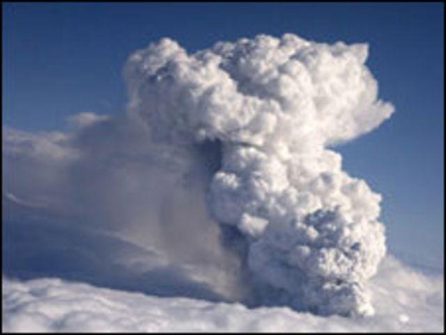 الرماد البركاني