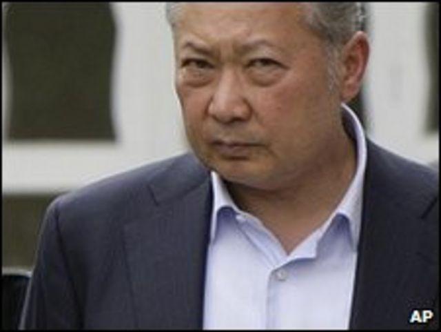 الرئيس القرغيزي المخلوع كرمانبيك باكييف