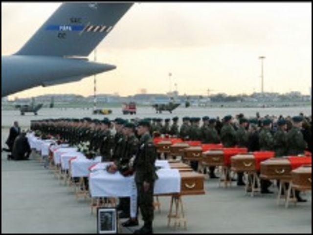 بولندا تستقبل جثامين الضحايا