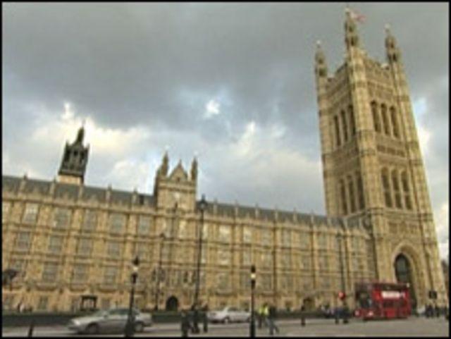 البرلمان البريطاني في ويستمنستر