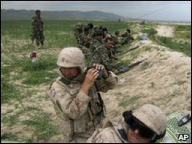 جنود أجانب في أفغانستان