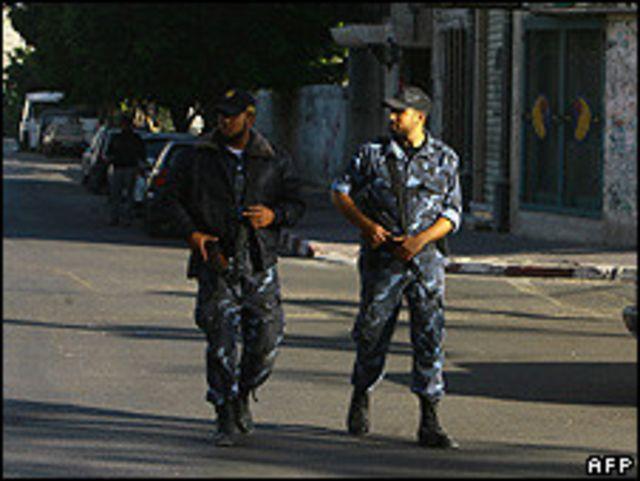 مقاتلون من حماس