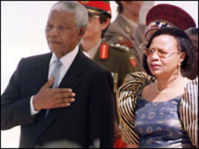 جراسا ماشيل ونلسون مانديلا