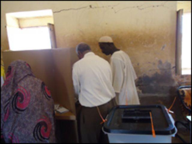 انتخابات سودانية