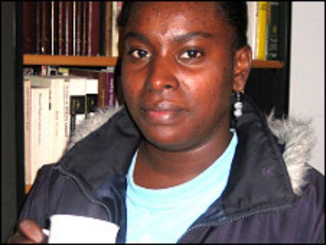 Luz Mary Mosquera, empleada de servicio doméstico