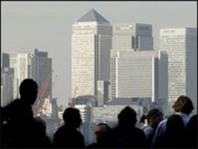 كناري وورف، بحي المال والاعمال في لندن