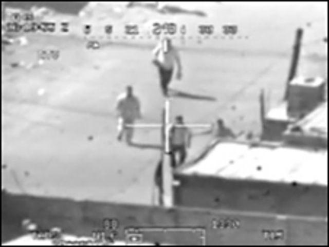 Imagen del video del ataque filtrado por WikiLeaks