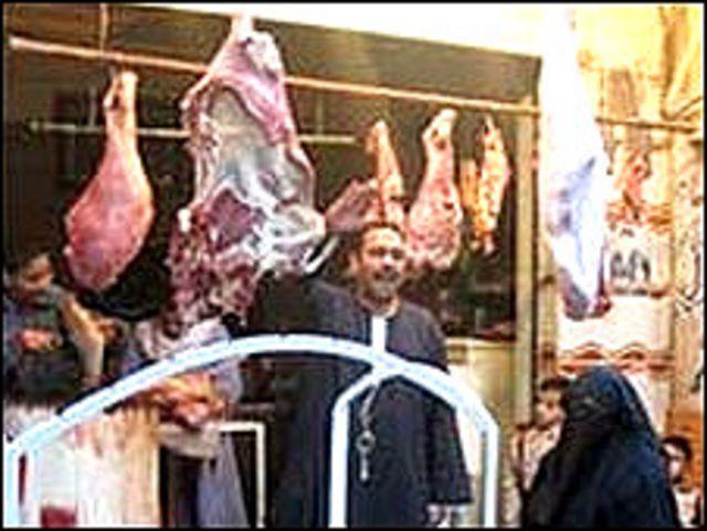 قصاب في القاهرة