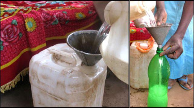 معصرة لنبيذ التمر في السودان