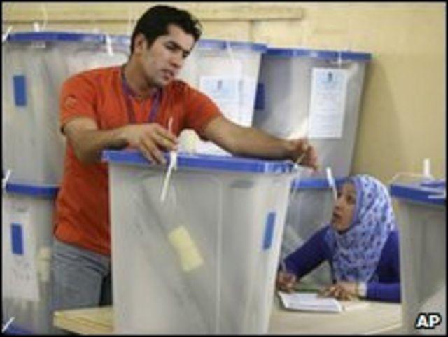 اعادة العد في الانتخابات العراقية