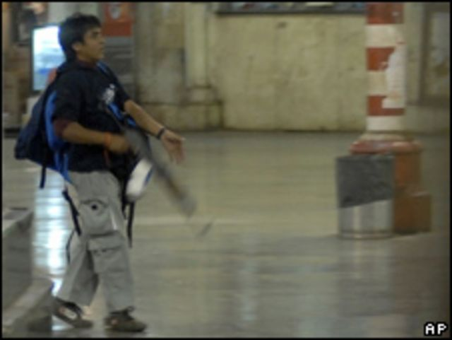 اجمل امير كساب في هجوم مومباي 2008
