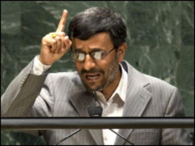 محمود احمدي نجاد الرئيس الايراني