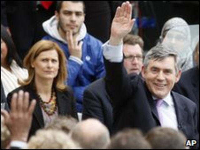 جوردن براون زعيم حزب العمال