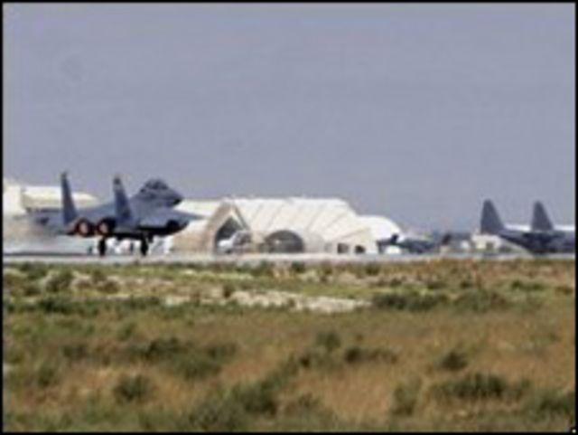 قاعدة باجرام الجوية بأفغانستان