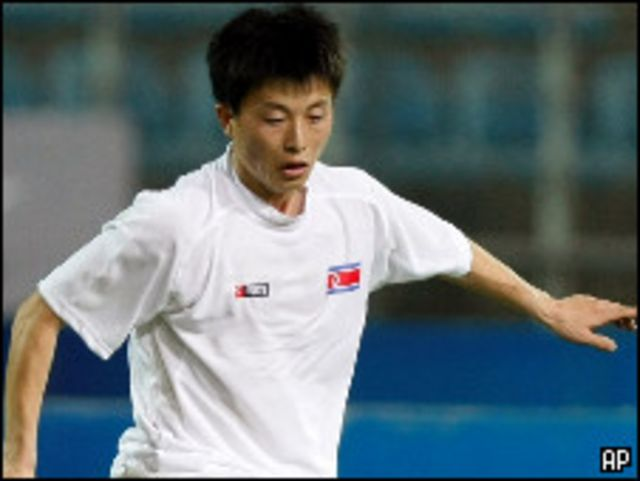 لاعب كوريا الشمالية مون إن جوك