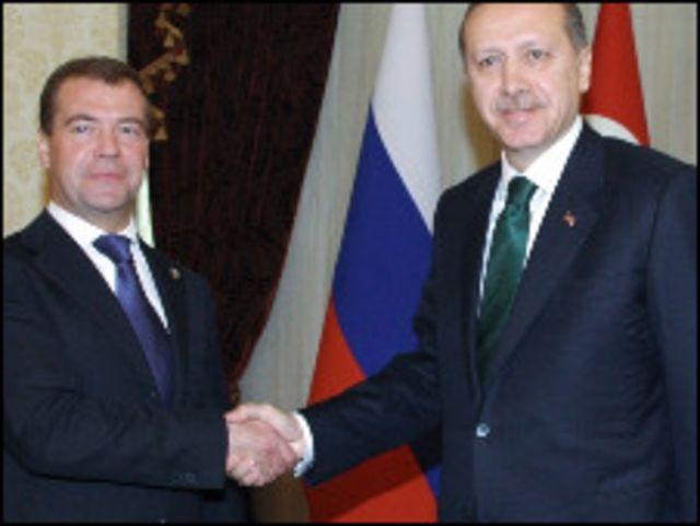 ميدفيديف واردوغان