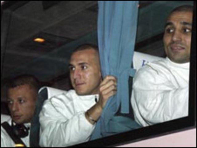 لاعبو الجزائر في القاهرة