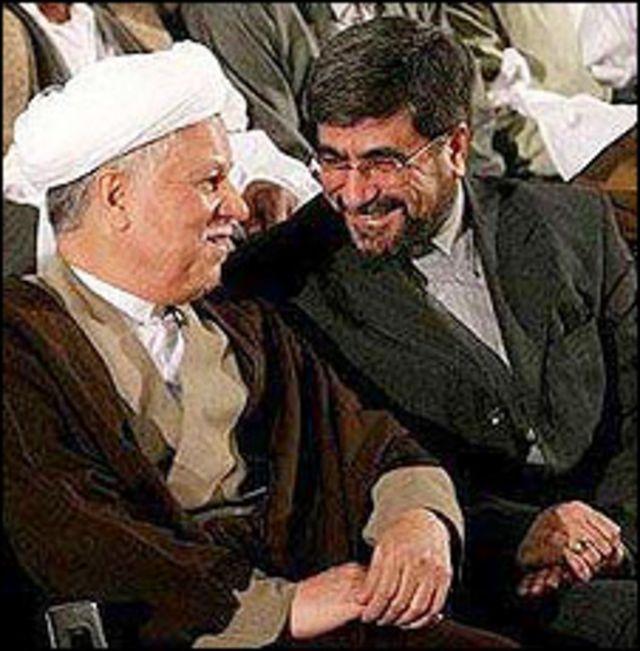 علی جنتی و هاشمی رفسنجانی