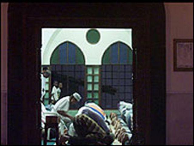 مسجد في كينيا