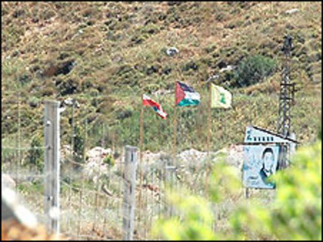 على الحدود الإسرائيلية اللبنانية