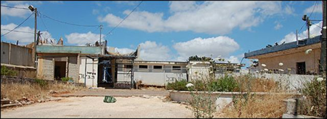 مركز حدودي مهجور بميتولا شمالي إسرائيل