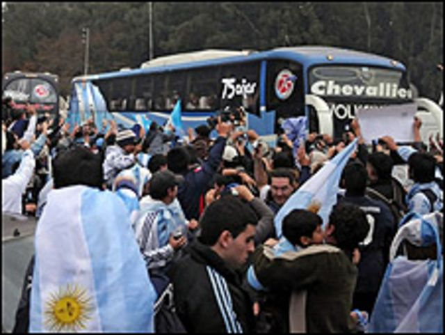 'yan wasan Argentina