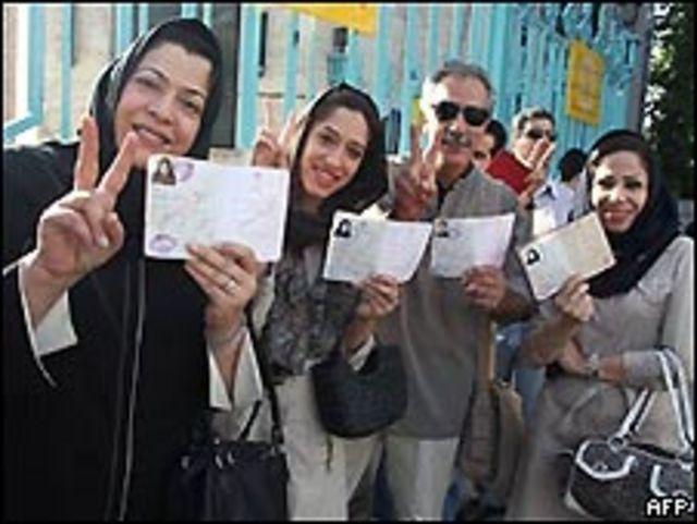 رای دهندگان ایرانی