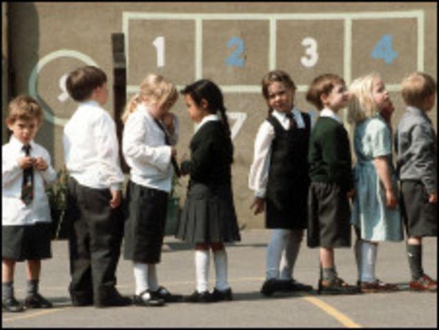 британские школьники