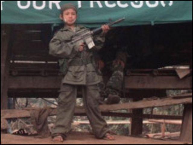 karen child soldier