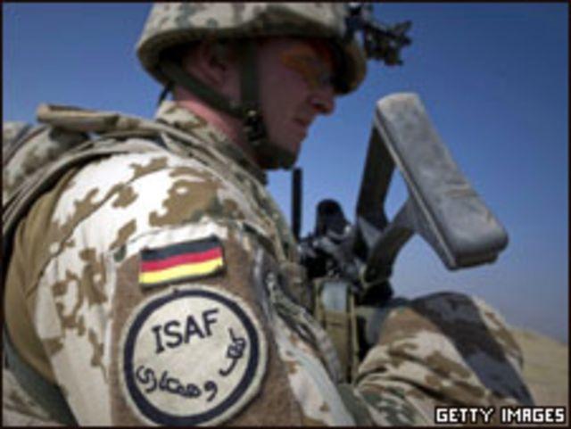 جندي الماني