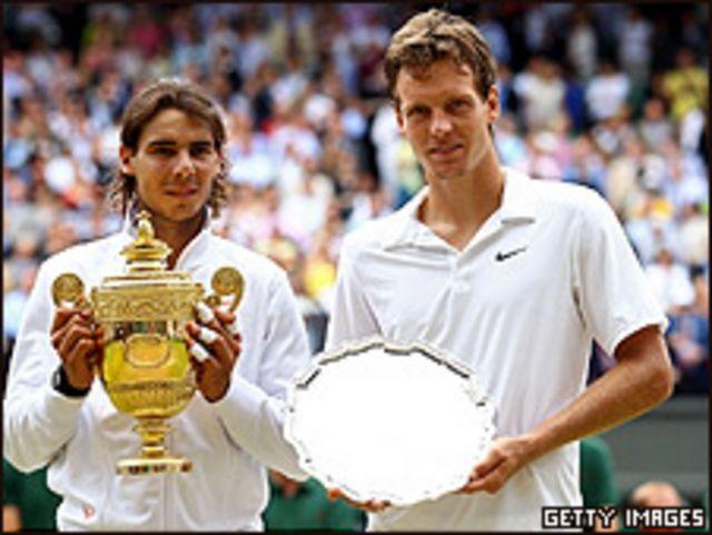 Nadal y Berdych