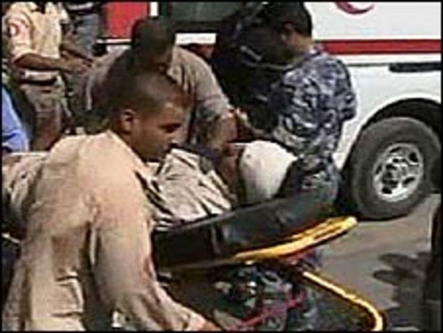 Víctima de atentado en Irak