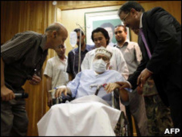 Megrahi dibebaskan bulan Agustus 2009 atas dasar belas kasihan