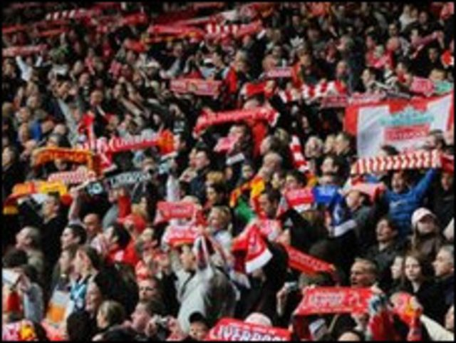 Fans sepakbola Inggris