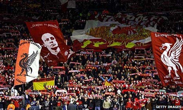 Garonka Liverpool iyo taageerayaasheeda