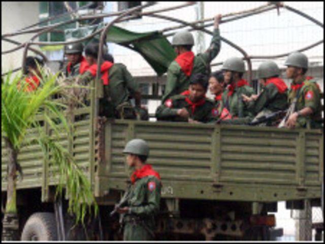 မြန်မာစစ်သားများ