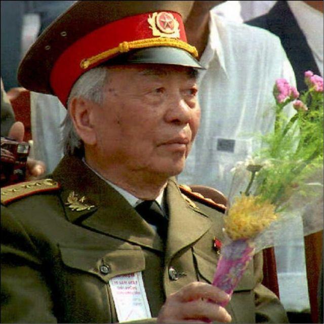 Tướng Giáp có mặt ở Đà Nẵng hôm 29/03/1995 đánh dấu 20 năm kết thúc chiến tranh.