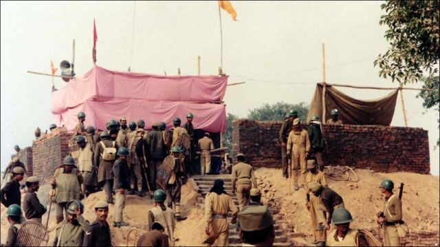 तत्कालिक राम मंदिर