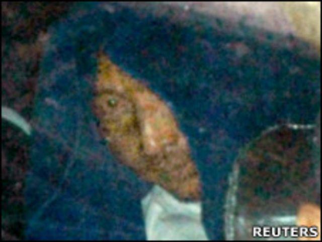 被日本逮捕的中国渔船船长詹其雄(9/9/2010)