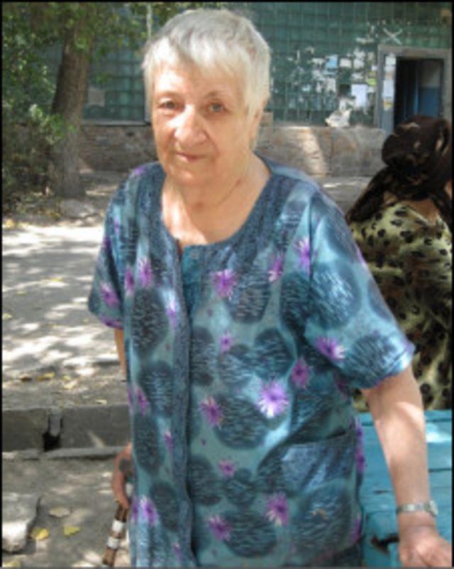 Киргизская пенсионерка Раида Ивановна